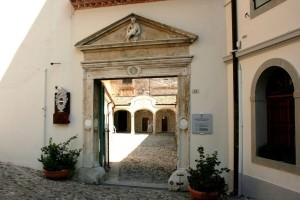 Cividale del Friuli - ingresso complesso Monastero Santa Maria in Valle