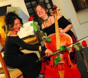 Paola Erdas e Gyongy Erodi