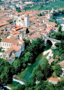 Cividale del Friuli - UD FVG I - vista area