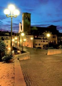 Cividale del Friuli - UD FVG I - vista dal Ponte del Diavolo