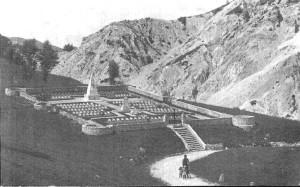Cimitero di guerra nella zona di Clauzetto