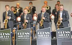 Glenn Miller Orchestra Playing
