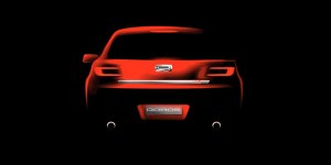 Second Qoros model debuts at Geneva 2014 - rear