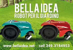 Bella Idea - robot per il giardino