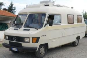 Il camper Mercedes Orion