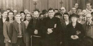 1949 - Profughi zaratini davanti al Duomo di Udine