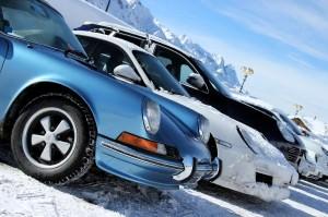 Porsche dello Sci Club a Ponte di Legno