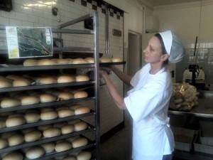 Sara Cocetta e il pane Dolomia