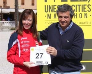 Martines con Micaela Bonessi