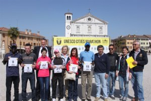 Foto di gruppo dei top runners