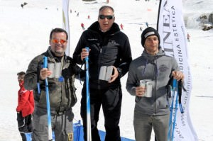 Da sinistra, Taucer, Berti e Conti