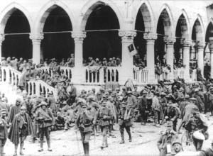 Udine - La Loggia del Lionello nel '18