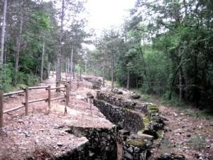Il Parco della Grande guerra a Monfalcone