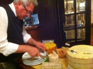 Piero Zanini ai formaggi
