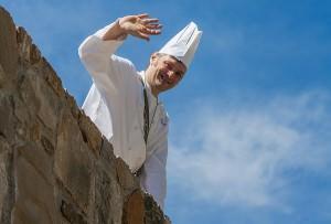 Matteo De Petris, chef  Ai Nove Castelli (Foto Claudia Stocco)