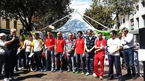 primi 8 uomini maratonina premiazione