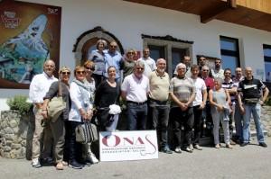 Gruppo ONAS a Sauris