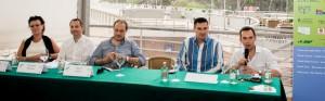da sx a dx Cristina Colla, Giovanni Munisso, Alberto Garlini, Giorgio Ardito e Luca Fanotto