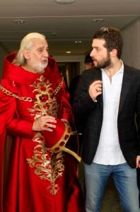 Wellber con Placido Domingo