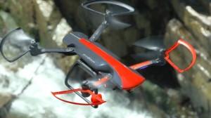 Sky Rider Drone in volo