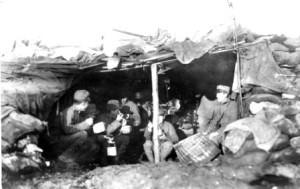 Chiarazzo: rancio in trincea (Museum 1915-18 vom Ortler bis zur Adria Kötschach-Mauthen)