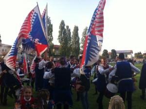 Si festeggia la vittoria. (Foto Pasqual)