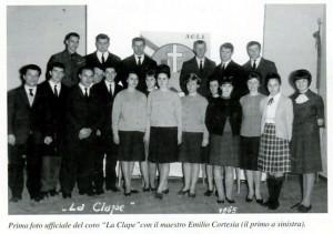 Il Coro all'origine 1964