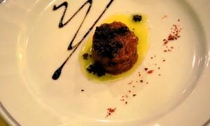 Muzzana del Turgnano UD - piatto con tartufo nero - novembre 2014