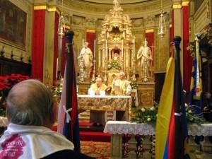FOGOLÂR CIVIC Udine 29.XII.2014 Santa Messa per i Defunti della Società Civile (1)