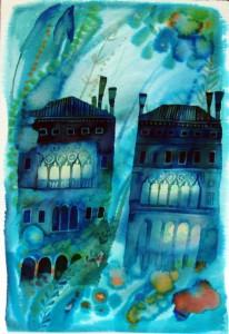 Stepan Zavrel - Sotto la laguna di Venezia