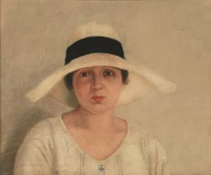 Virgilio Guidi - Ritratto della fidanzata