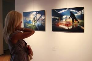 Uno scorcio della mostra (Foto Delponte)