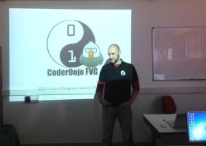 Riccardo Riva mentor coderdojoFVG