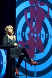 """Teatro Asioli Correggio (RE) 1/11/2013 Lella Costa in: """"FERITE A MORTE"""""""