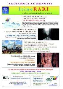 Locandina Itinerari marzo 2015 vers 15 genn copia