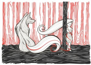 Il lupo e la bambina