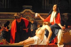 compianto sul cristo morto - vaccaro TEATRI 35