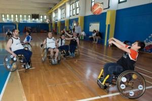 19° Giornate SCS - dimostrazioni basket in carrozzina