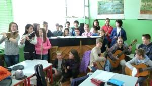 Foto classe musicale