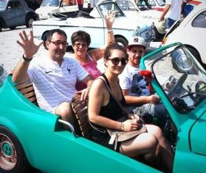 La famiglia Lault all'edizione dello scorso anno