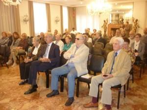 Pubblico_Paola Del Din e Enrico D'Este in prima fila