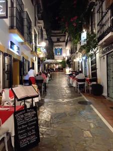 Nella foto: uno scorcio di Marbella