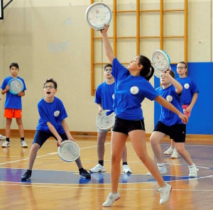 Remanzacco 24 novembre 2013. Torneo di tamburello. Copyright Petrussi Foto Press- Diego Petrussi