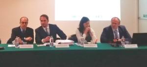 Da sinistra, De Castro, Shaurli, Mazzurana e D'Auria