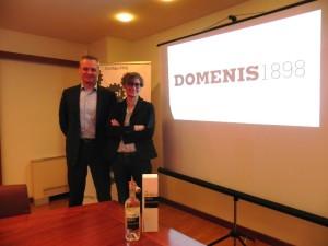 Alain Rubeli e Cristina Domenis