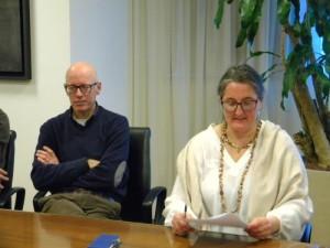 Alberto Grizzo e Giuliana Colussi