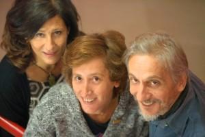 Da sinistra, Plos, Sinigallia e Migliacci