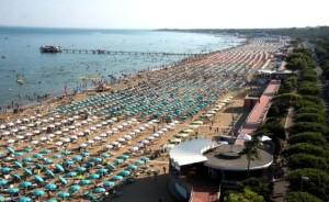 Panoramica della spiaggia di Pineta (Foto Valter Parisotto)