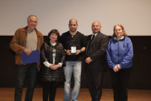 Solidarietà a Reana - Melograno d'Argento a Luca Campeotto