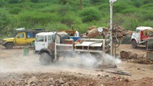 Escavazione d'un pozzo in Etiopia